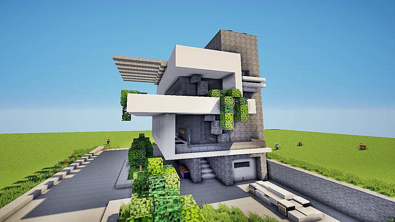 maison moderne defroi
