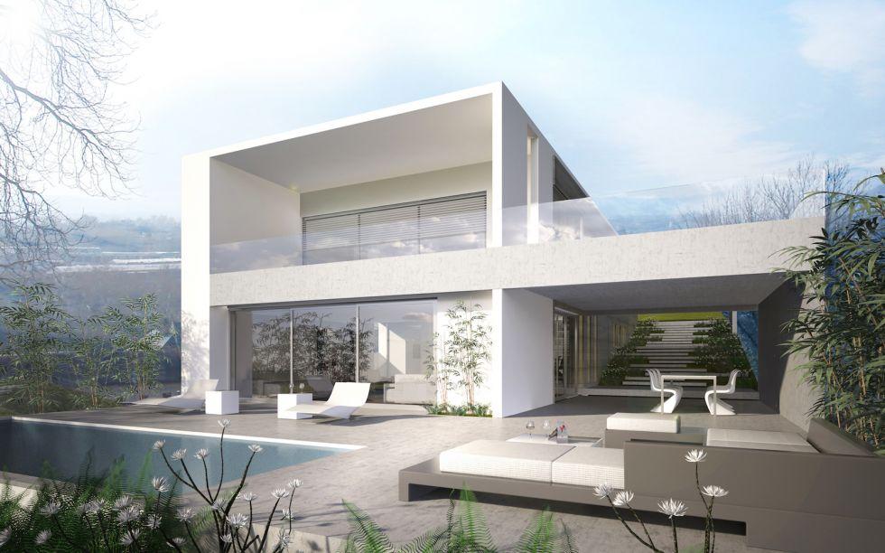 maison moderne des annees 60