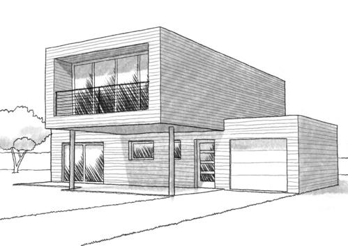 Dessin Maison Moderne Gamboahinestrosa