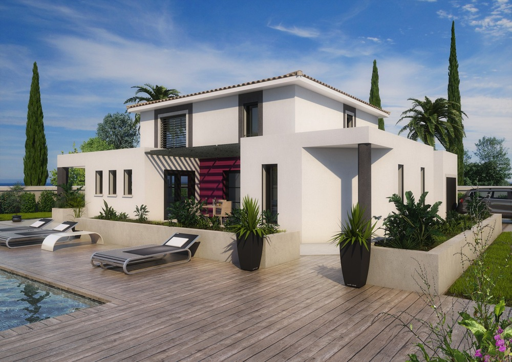 maison moderne drome