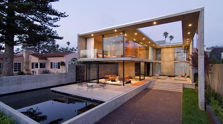 maison moderne ecologique