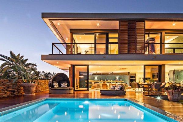 maison moderne en afrique