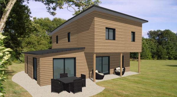 maison moderne en kit