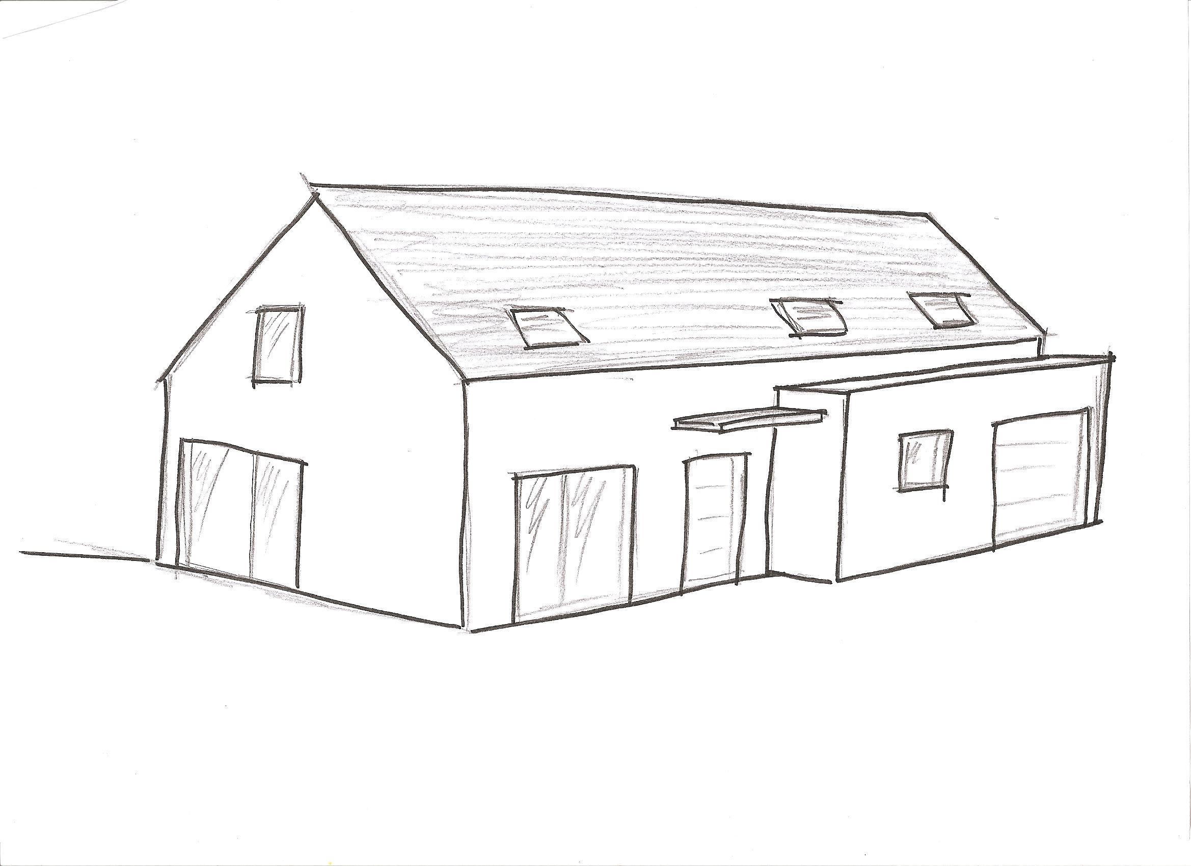 Apprendre A Dessiner Une Maison Gamboahinestrosa