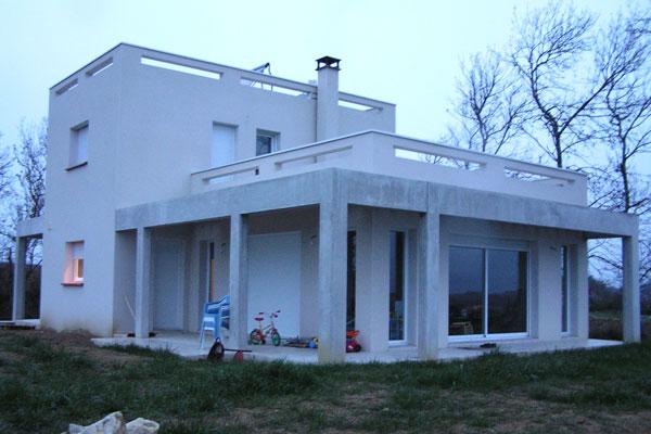 maison moderne gers