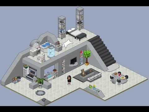 maison moderne habbo