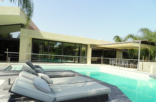 maison moderne hacienda