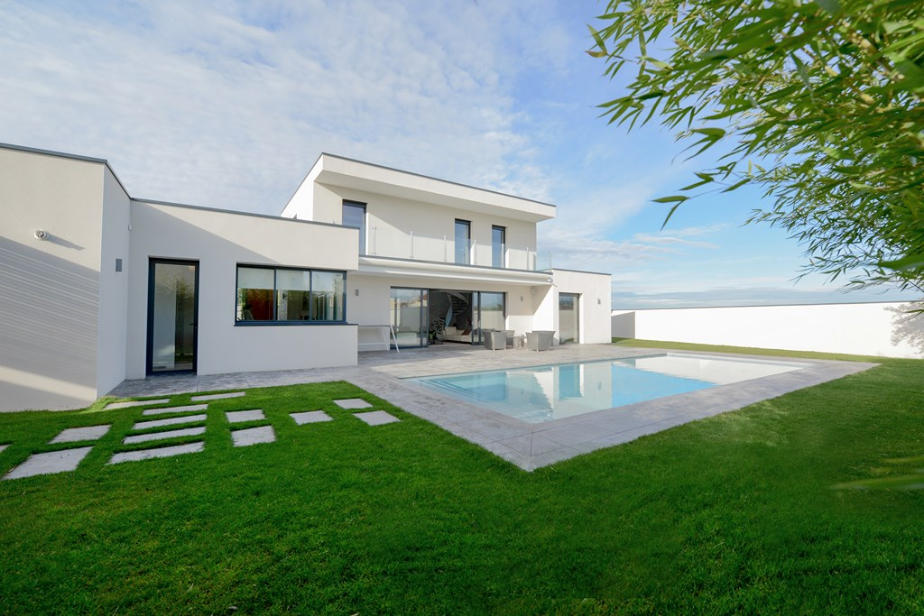 maison moderne haut de gamme a vendre