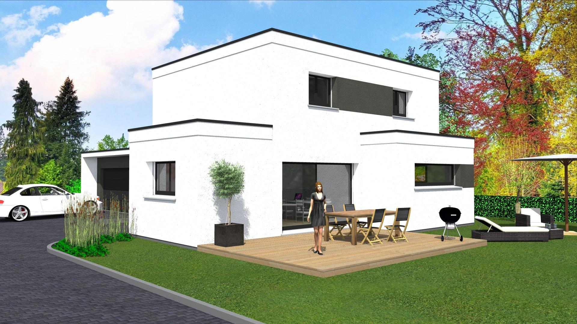maison moderne haut rhin