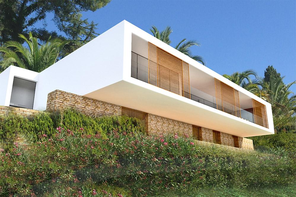 maison moderne hyeres