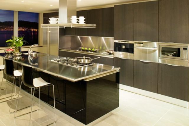 maison moderne interieur cuisine