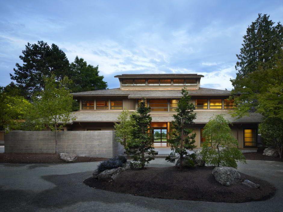 maison moderne japonaise