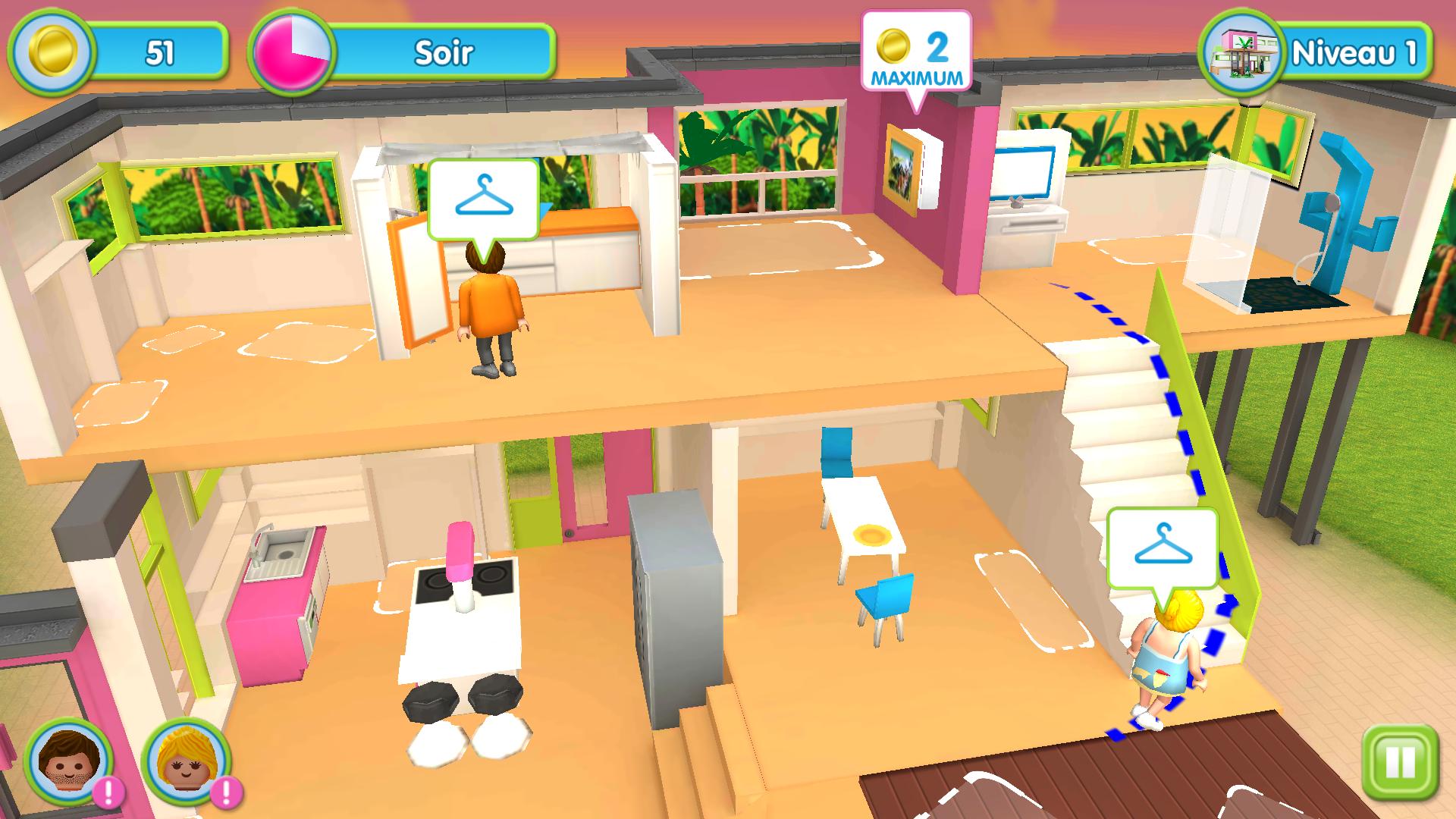 maison moderne jeux