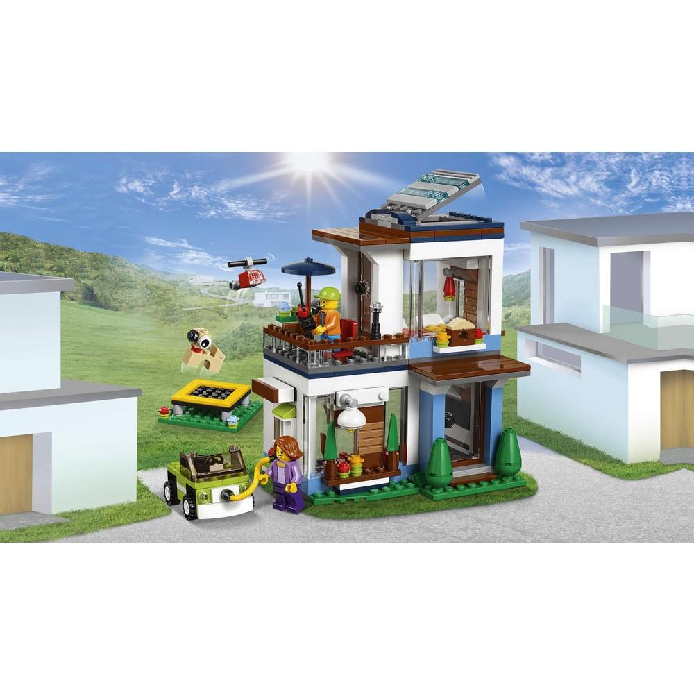 maison moderne lego