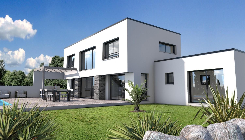 maison moderne les angles