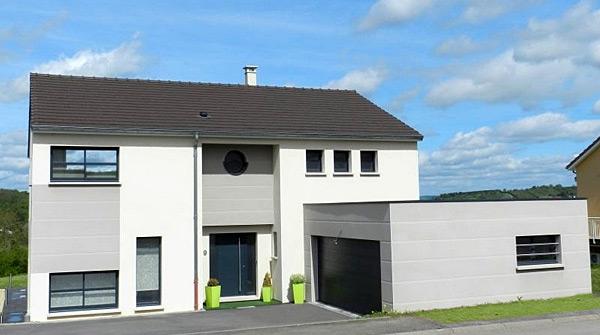 maison moderne lorraine