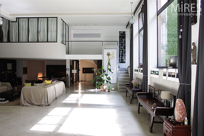 maison moderne open space