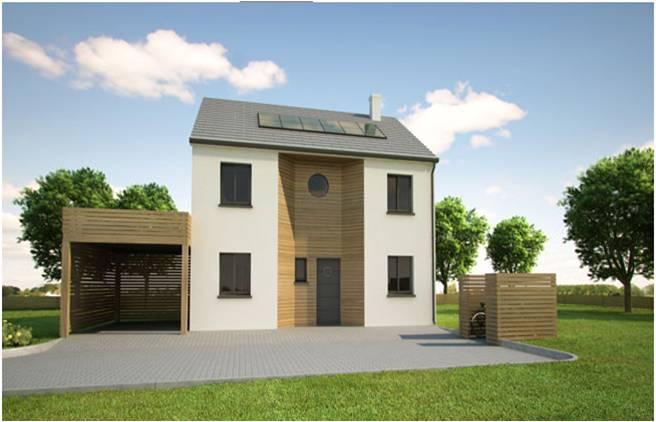 maison moderne r+1
