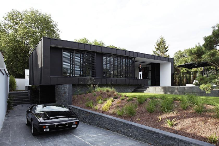 maison moderne region parisienne