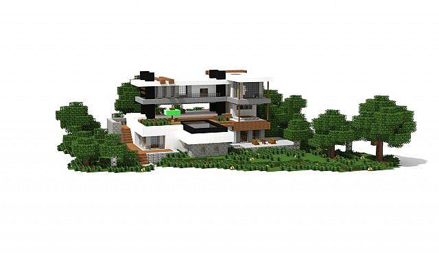 maison moderne schematic