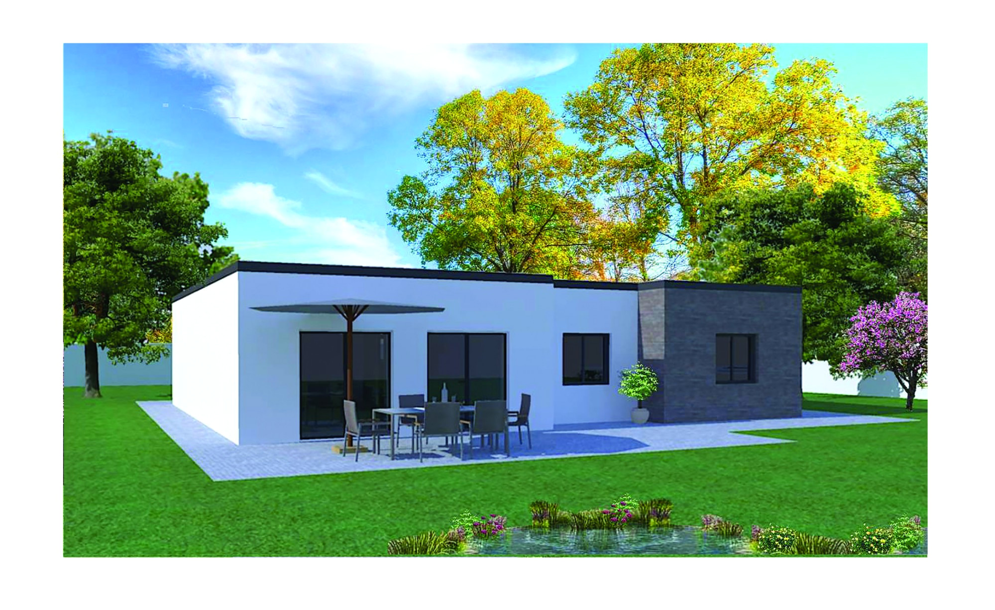 maison moderne simple