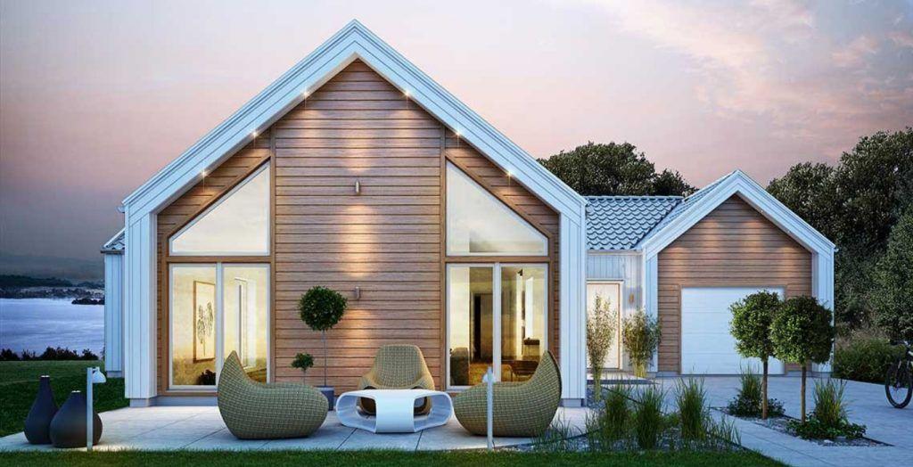 Maison toit une pente ventana blog - Maison contemporaine toit 4 pentes ...