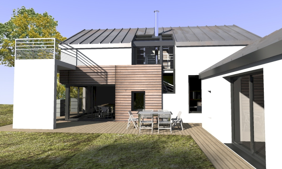 maison toit en zinc ventana blog