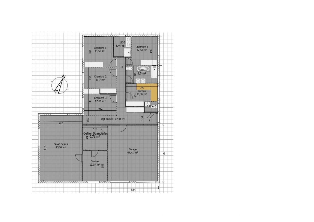 maison plain pied 160m2