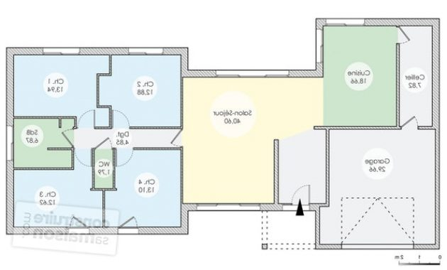 maison plain pied 38