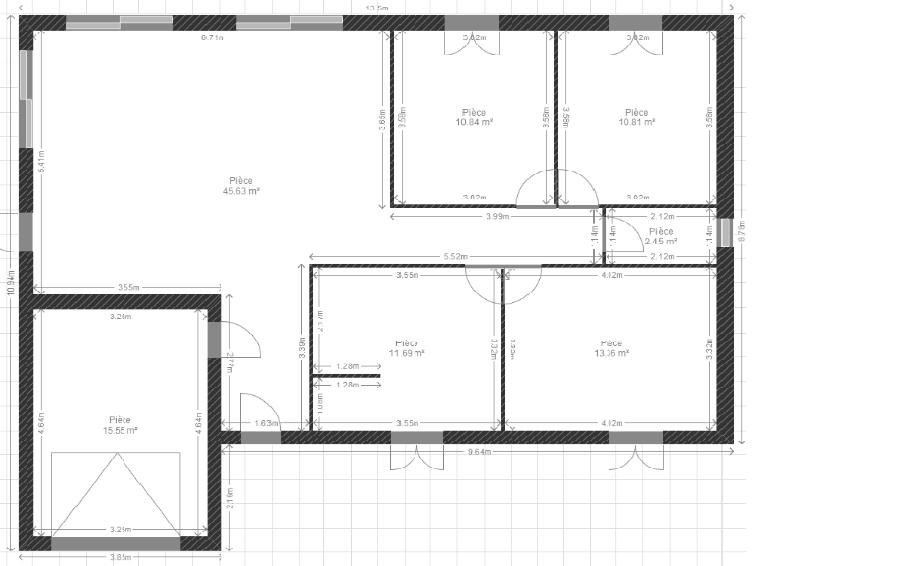 maison plain pied 95m2