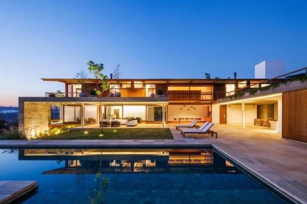 Belle maison plain pied avec piscine