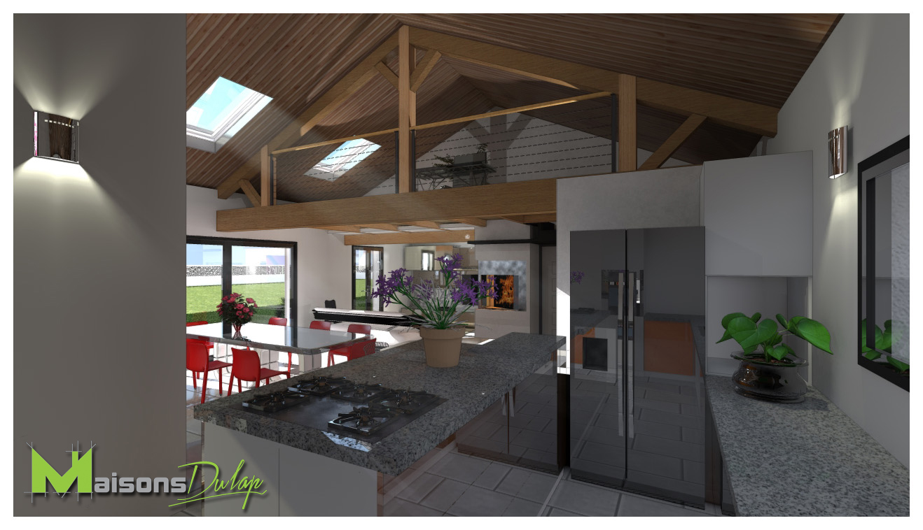 Maison Avec Mezzanine Plan EON85 - Napanonprofits