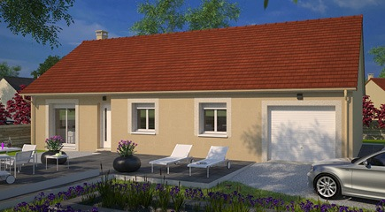 maison plain pied france confort