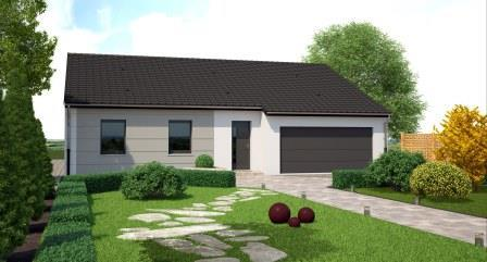 maison plain pied garage double