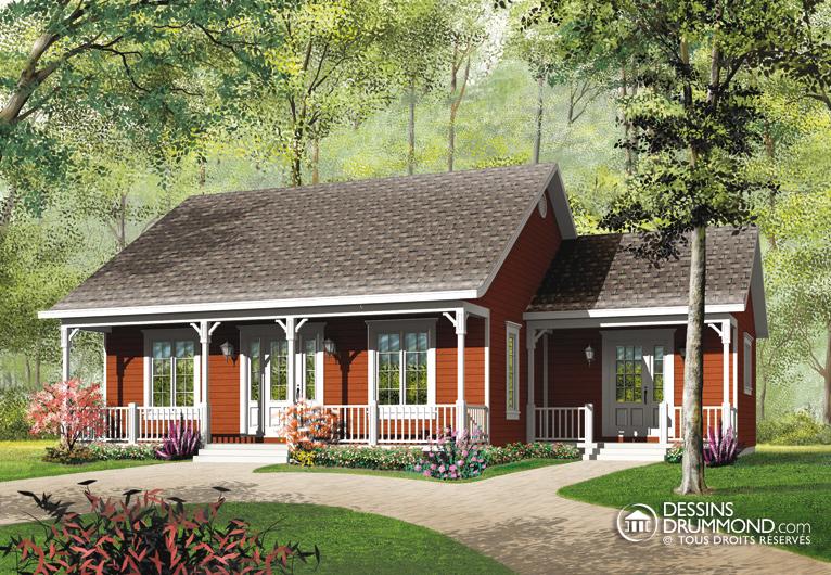 maison plain pied ou bungalow