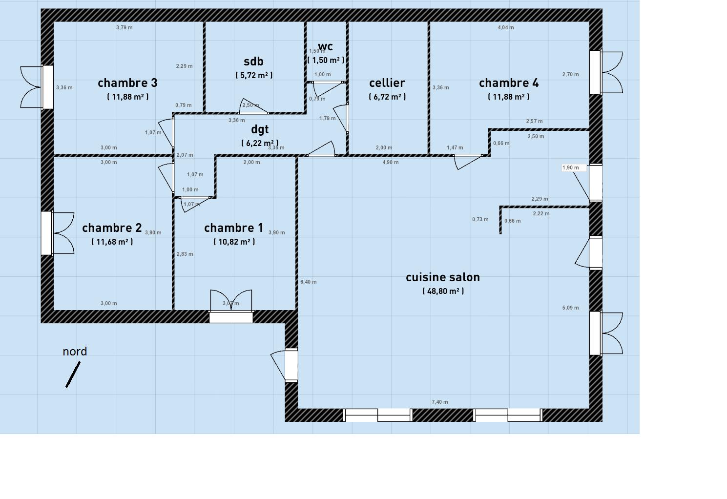 maison plain pied sans garage