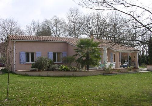 maison plain pied sud france