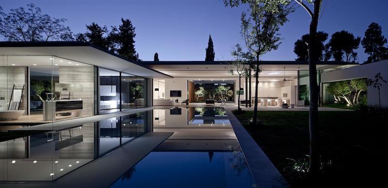 maison plain pied ultra moderne